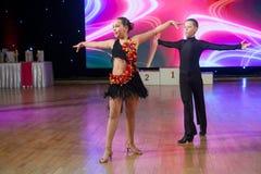 Künstlerische Tanz-Europameisterschaft WADF Stockfotos