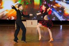 Künstlerische Tanz-Europameisterschaft WADF Stockbilder