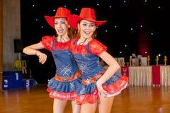 Künstlerische Tanz-Europameisterschaft WADF Lizenzfreies Stockfoto