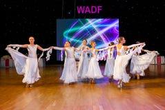 Künstlerische Tanz-Europameisterschaft WADF Lizenzfreie Stockfotos