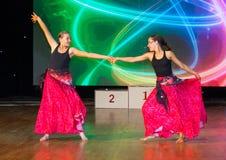Künstlerische Tanz-Europameisterschaft WADF Stockbild