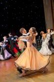 Künstlerische Tanz-Europameisterschaft WADF Stockfotografie