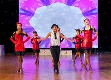 Künstlerische Tanz-Europameisterschaft WADF Lizenzfreie Stockbilder