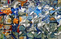 Künstlerische Wand 2 Stockfotos