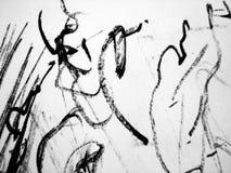 Künstlerische Zeichnung vektor abbildung