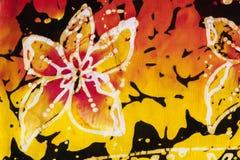 Künstlerischer bunter Blumenhintergrund Stockfoto