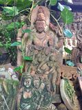 Künstlerischer Clay Tablets in Thailand Stockbild