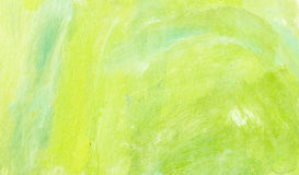 Künstlerischer Frühlingshintergrund mit Pinselkennzeichen Lizenzfreies Stockfoto