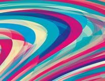 Künstlerischer Hintergrund mit Strudelstreifen Verschiedene Varianten der Farbe sind möglich lizenzfreie abbildung