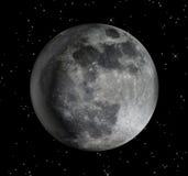 Künstlerischer Mond Lizenzfreie Stockbilder