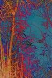 Künstlerischer, natürlicher Hintergrund mit Anlagen Stockfoto