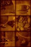 Künstlerischer stilvoller Hintergrund der Weinlese stockfoto
