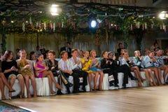 Künstlerischer Tanz spricht 2012-2013 zu Stockbild