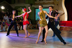 Künstlerischer Tanz spricht 2012-2013 zu Lizenzfreie Stockfotos