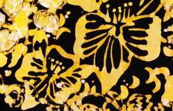Künstlerischer tropischer bunter Hintergrund Stockbilder