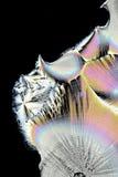 Künstlerisches Bild des Vitamins C in kristallisierter Form Stockfotos