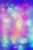 Künstlerisches bokeh beleuchtet Hintergrund mit grafischen Elementen Lizenzfreies Stockbild
