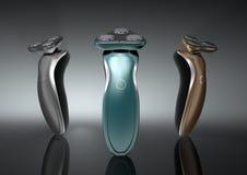 Künstlerisches Design des Rasiermessers Stockfotografie
