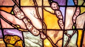 Künstlerisches Fenster Stockbild