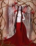 Künstlerisches gotisches Portrait Stockbilder