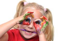 Künstlerisches Kind lizenzfreies stockbild