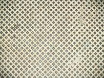 Künstlich von den metallischen Quadraten Lizenzfreies Stockfoto