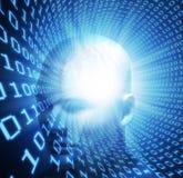 Künstliche allgemeine Intelligenz lizenzfreie abbildung