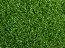 Künstliche Beschaffenheit des grünen Grases Stockbild