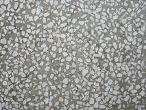 Künstliche blaue Leuchte Steinboden Stockfoto