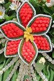 Künstliche Blumen. Stockfotografie