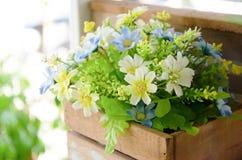 Künstliche Blumen Stockfoto