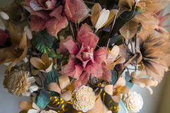 Künstliche Blumen Stockbild