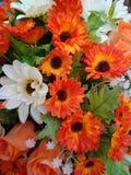 Künstliche Blumen 123 künstliche flowers12 Stockfotografie