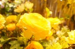 Künstliche Blumen, sehr lebensecht stockfotos