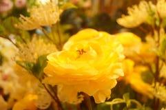 Künstliche Blumen, sehr lebensecht lizenzfreies stockbild