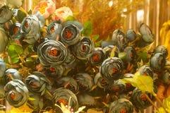 Künstliche Blumen, sehr lebensecht stockbild