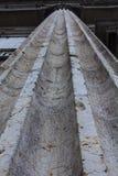 Künstliche Fassade des dekorativen Steins Lizenzfreie Stockbilder