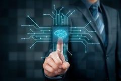 Künstliche Intelligenz lizenzfreie stockfotografie