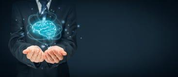 Künstliche Intelligenz und Kreativität Stockbild