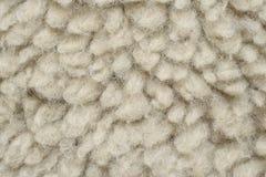 Künstliche Wolle mag Schaffell Stockbilder