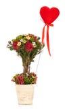 Künstlicher Blumenstrauß Lizenzfreie Stockfotos