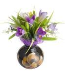 Künstlicher Blumenstrauß   Getrennt Stockbild