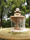 Künstlicher Brunnen Stockbild