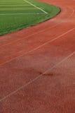 Künstlicher Fußballplatz Stockfoto