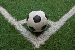 Künstlicher Gras-Fußballplatz lizenzfreie stockfotos