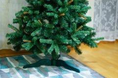 Künstlicher hölzerner Baum Stockbild