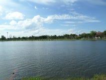 Künstlicher See Stockbild