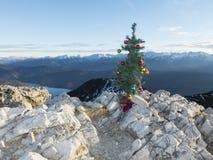 Künstlicher Weihnachtsbaum Lizenzfreies Stockbild