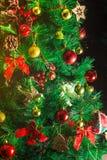 Künstlicher Weihnachtsbaum Stockbild