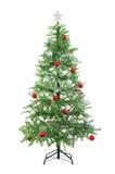 Künstlicher Weihnachtsbaum Lizenzfreies Stockfoto